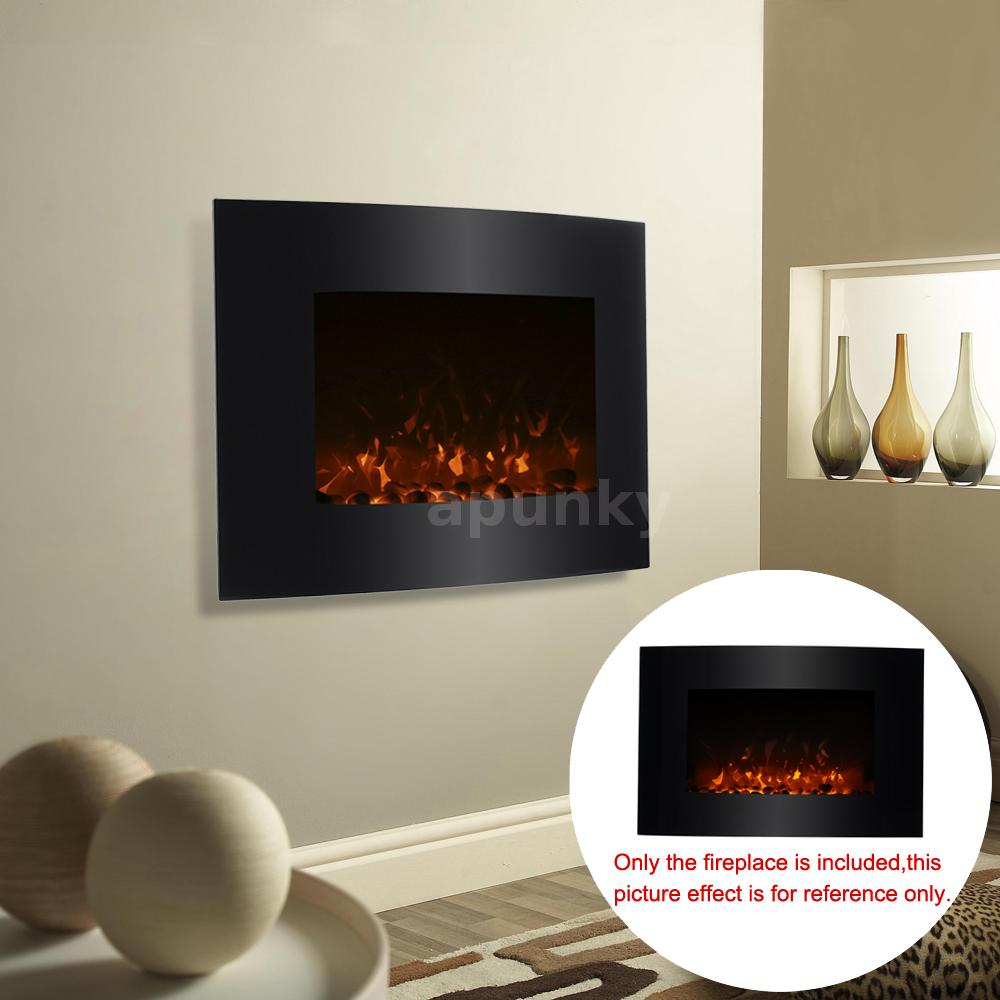 led elektrokamin kamin kaminofen wandkamin mit fernbedienung elektrisch d0j4 ebay. Black Bedroom Furniture Sets. Home Design Ideas